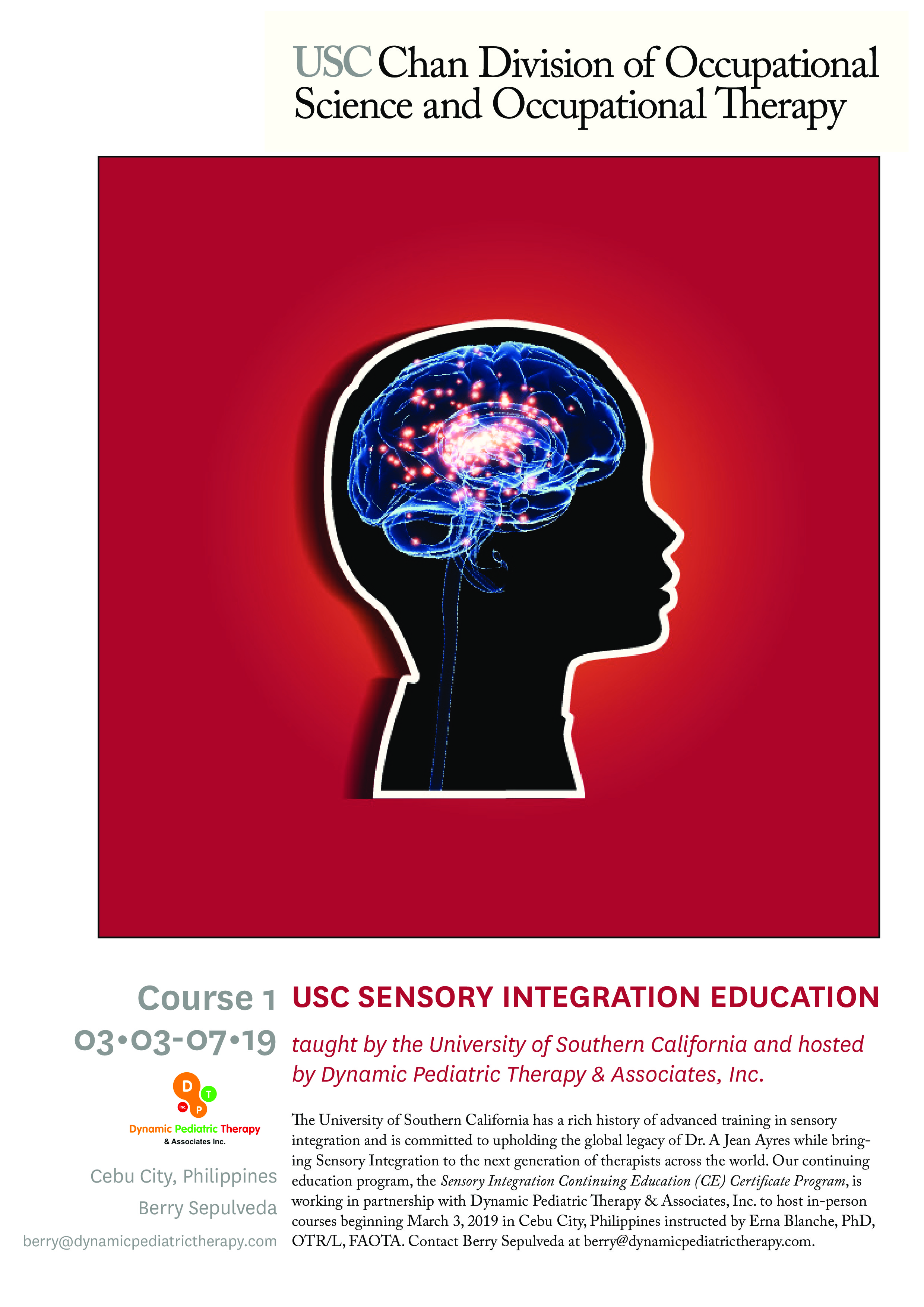 Usc Sensory Integration Certification Courses Are Coming To Cebu